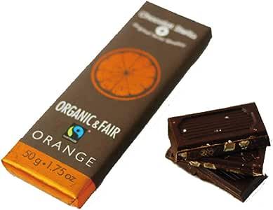 フェアトレード&オーガニックチョコレート Stella Bernrain ショコラステッラ オレンジ