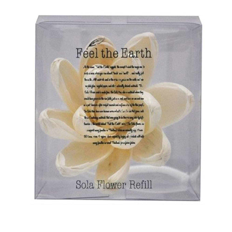 アテンダント怠個人的にFEEL THE EARTH ソラフラワー リフィル リリーマグノリア Lily Magnolia フィール ジ アース