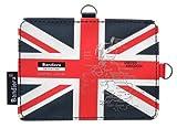 Bandiera パスケース U.K. ナショナルフラッグ 【イギリス ユニオンジャック 定期入れ ラゲッジタグ リール グッズ 雑貨】 10709