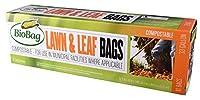 BioBag Certified Compostable 33 Gallon Lawn & Leaf Bags - 10 CT [並行輸入品]