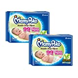 MamyPoko Baby Wipes Anti Bacterial, 76ct (Pack of 2)