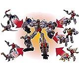 トランスフォーマー パワーオブザプライム ダイノボット軍団5体合体ボルカニカス(PP-11,PP-12,PP-13,PP-14,PP-15) + アルケミストプライム(PP-10) 6体セット