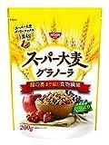 日清シスコ スーパー大麦グラノーラ 200g