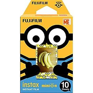 FUJIFILM インスタントカメラ チェキ用フィルム 10枚入 絵柄 (ミニオン) INSTAX MINI MINION DMF WW 1