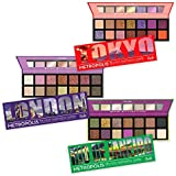 RUDE Metropolis 14 Color Eyeshadow Palette (BUNDLE) (並行輸入品)