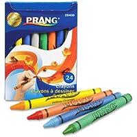 Prang Crayons Made with Soy, 24 Colors/Box by Prang