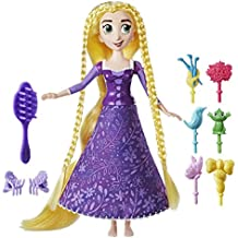 Disney Tangled Series - Spin 'n Style Rapunzel doll inc 6 Hair Plug Ins and brush