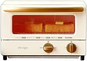 アイリスオーヤマricopa オーブントースター 上下ヒーター設計 3段階温度調節 アイボリー EOT-R021C