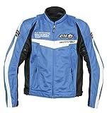 エルフ(ELF) ジャケット メッシュブルゾン ブルー 3LEL-6225