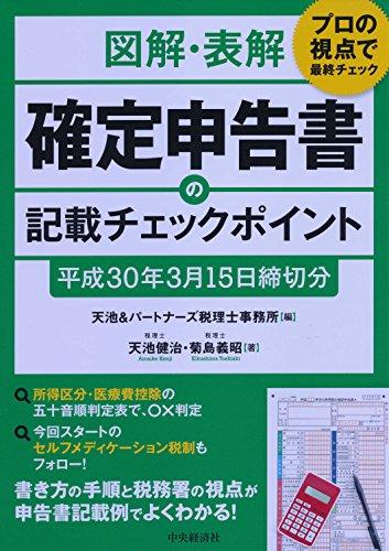 図解・表解 確定申告書の記載チェックポイント(平成30年3月15日締切分)