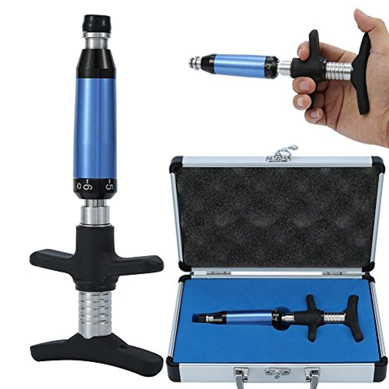 パケット美的非武装化2タイプ6レベルマニュアルカイロプラクティック脊椎調整矯正器具フォースマッサージャー(# 1)