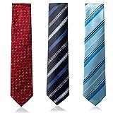 LEGACY WORLD ネクタイ 3本セット 洗えるネクタイ ビジネスマン 紳士 ビジネス Bセット