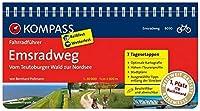 Emsradweg, Vom Teutoburger Wald zur Nordsee: Fahrradfuehrer mit Routenkarten im optimalen Massstab.