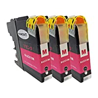 BROTHER LC213-M×3 マゼンタ3本セット 〈ブラザー〉良質互換インクカートリッジ ICチップ/残量表示/1年間保証付き 〈Chip製〉