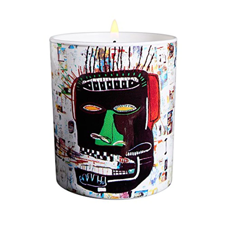 知恵申し立て重要なジャン ミシェル バスキア グレン キャンドル(Jean-Michael Basquiat Perfumed Candle