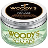 Woodys Pomade by Woodys for Men - 3.4 oz Pomade, 96 g