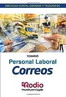 Correos. Personal Laboral. Temario: Sociedad Estatal Correos y Telégrafos