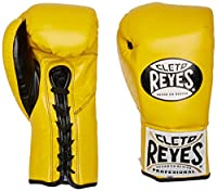 (240ml, Yellow) - Cleto Reyes Official Fight Boxing Gloves
