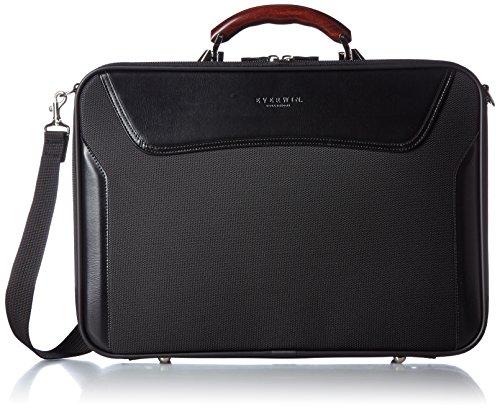 [エバウィン] ビジネスバッグ 日本製 アタッシェケース EW21576 BK ブラック