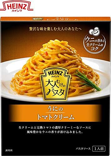ハインツ (Heinz) 大人むけのパスタ うにのトマトクリーム ×4箱