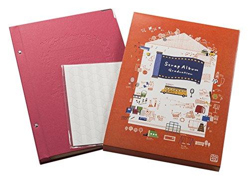 コクヨ アルバム スクラップブック Graduation KE-AC16-4