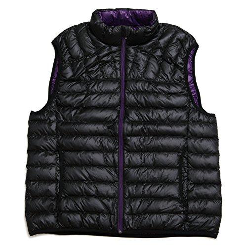 [해외]NO BRAND (무상) 라이트 다운 베스트 남성 큰 사이즈 속옷 다운 베스트 다운 80 % 깃털 20 % 무지 3L 4L 5L 블랙 레드 카키 네이비/NO BRAND (no brand) Write down 80% Best Men`s large size inner vest down 20% Feather plain 3L 4L 5L Black Re...