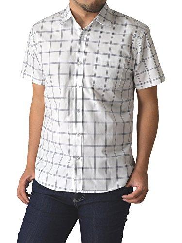 (リミテッドセレクト) LIMITED SELECT P2 シャツ メンズ チェック柄シャツ 半袖 ストライプ R4G-0790 M K 11柄