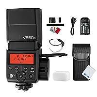 GODOX V350C TTL 2.4G GN36 1/8000 HSSカメラフラッシュスピードライト, 充電式リチウムイオン電池 for キヤノンEOSカメラ