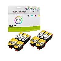 True Colorトナー30x L 10個パックセット1550532/ 1341080高Yield互換インクカートリッジ交換ESP c110Kodak c310C3153.2、Office 21502170、Hero 3.1、4.2、5.1プリンタ( 6ブラック, 4カラー)
