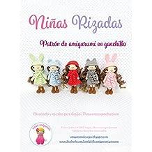 Niñas Rizadas: Patrón de amigurumi en ganchillo (Spanish Edition)