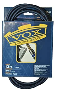 VOX ヴォックス ケーブル ベースシールド 長さ4m S/Lジャックタイプ VBC-13