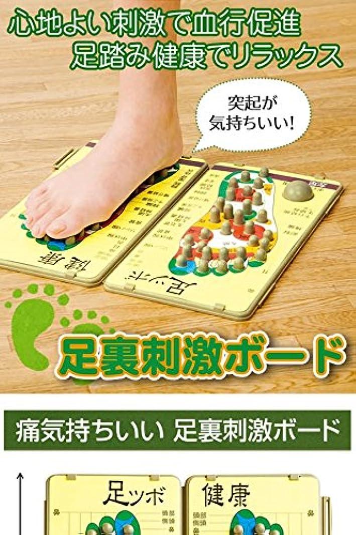 黄ばむ警報生む足裏刺激ボード