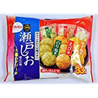 栗山米菓 瀬戸の汐揚アソート 33枚