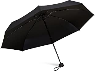 TAIKUU 超軽量 折り畳み日傘 UPF50+ UVカット率100% 日光を反射し木陰の涼しさ 遮光率100% 遮熱効果 折りたたみ日傘 晴雨兼用 8本骨 V8 …