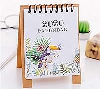 カレンダー卓上カレンダー 2020年シンプルなミニサボテン猫と梨デスクトップ紙のカレンダーデイリースケジューラ表プランナー年間アジェンダ主催 カレンダー卓上カレンダー (Color : 04)