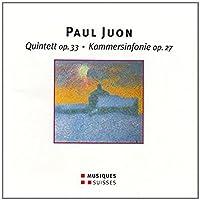 Quintett op.33 / Kammersinfonie op.27
