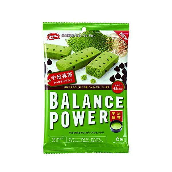 バランスパワー 宇治抹茶 6袋(12本)×10袋の商品画像