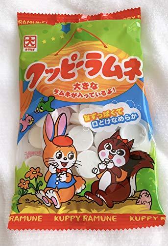 クッピーラムネ KUPPY RAMUNE 【85g×1袋】プライム保証 ラムネ菓子 子供会イベントのギフトプレゼントに!