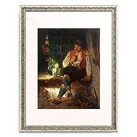 Kauffmann, Hugo,1844-1915 「A Tavern Scene. 1875」 額装アート作品