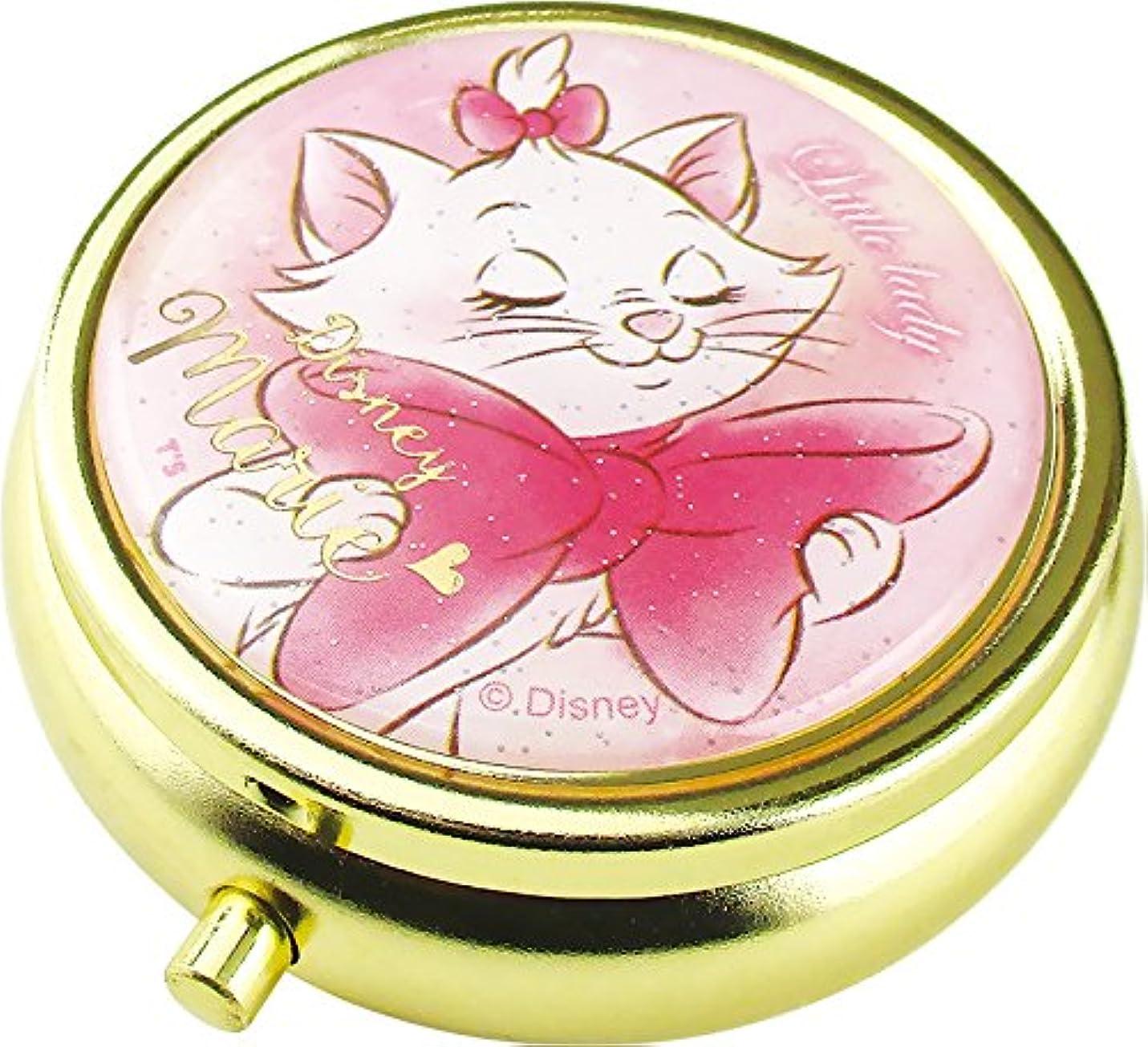 行き当たりばったり薄暗い水曜日ティーズファクトリー Disney マリー ミニ小物ケース ミラー、仕切り付き  ディズニー The Aristocats DN-5522315 MA 073344