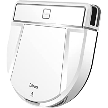 Dibea D850 ロボット掃除機 薄型【自動充電/水拭き/静音&強力吸引/4つの清掃モード/リモコンと充電台付属】(ホワイト)