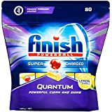 Finish Powerball Quantum Dishwasher Tablets, Lemon Sparkle
