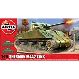 Airfix Sherman M4 MK 1 Tank - 1:76 Scale Model Kit