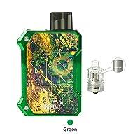 正規品 Smoant Battlestar Baby Pod Kit 750mah バッテリ 2ml 容量電子タバコ すたーたーキット 電子タバコ かっ (green)