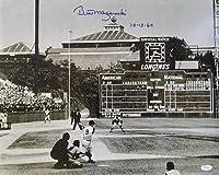 TSE Bill Mazeroski サイン入り 1960年ワールドシリーズ ホームラン スイング B&W 16x20 写真 '10-13-60'