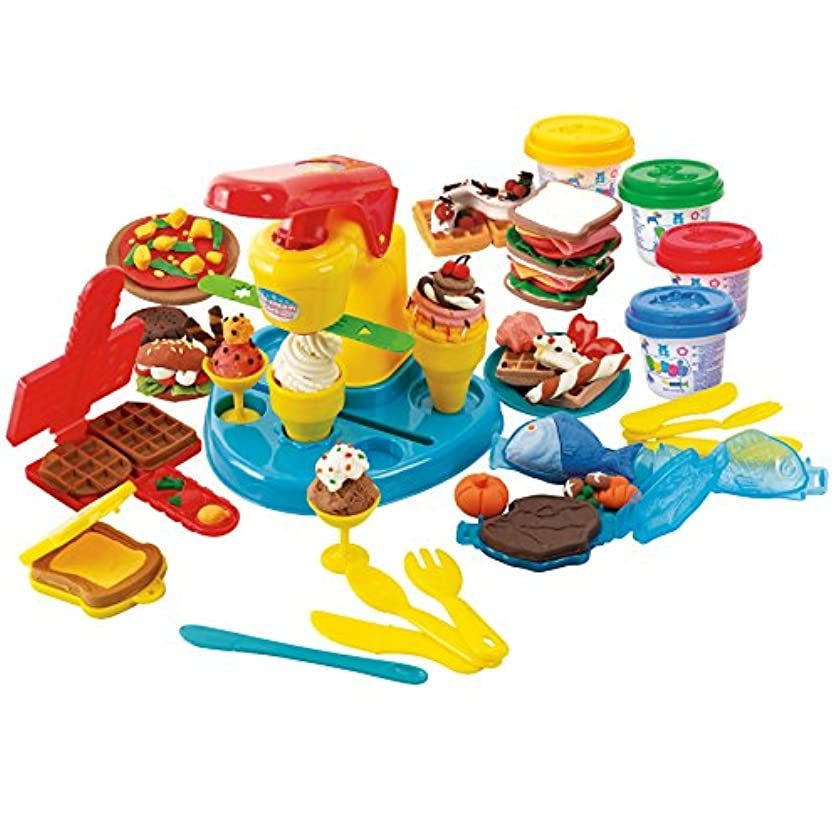 PlayGo Food Court Clay Dough