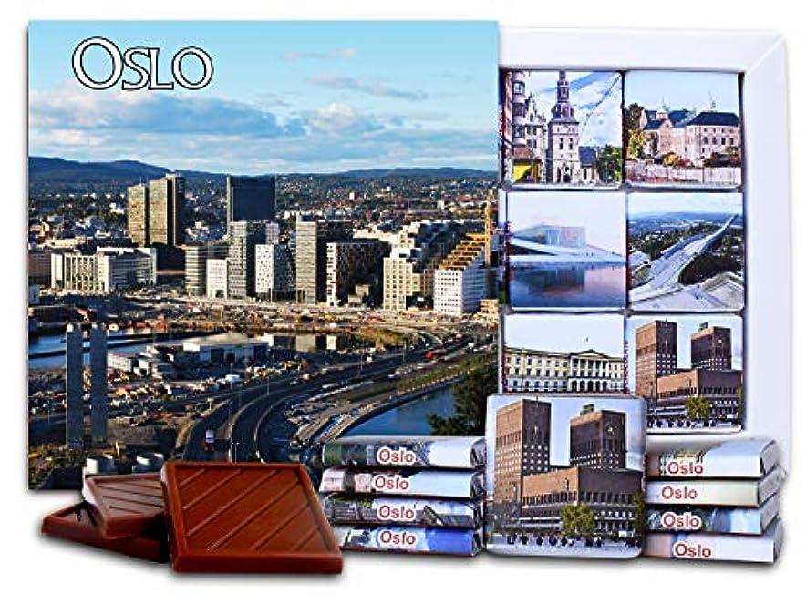 割る姪到着DA CHOCOLATE キャンディ スーベニア  オスロ  OSLO チョコレートセット 5×5一箱 (New)