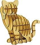 木製パズル kigumi (キグミ) ネコ