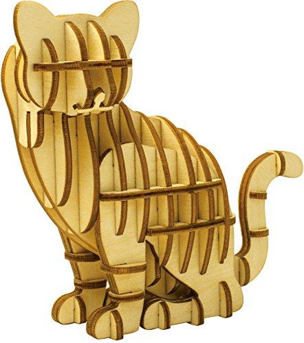 [해외]나무 퍼즐 kigumi (나무 조) 고양이/Wooden puzzle kigumi (Kigumi) cat