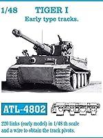 フリウル ATL-4802 1/48 タイガーI 初期型 金属可動履帯